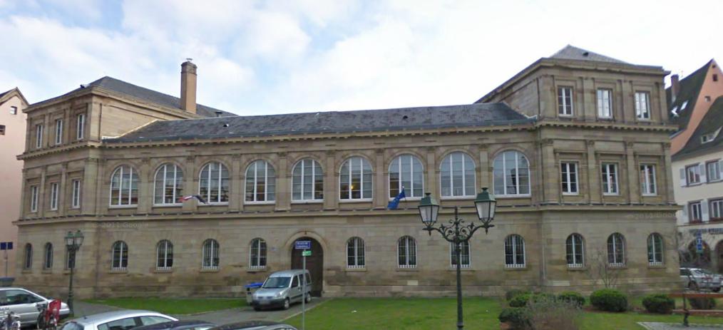 Bâtiment du ph8 à Strasbourg -  site d'hébergement pour les entreprises des nouvelles technologies et de la santé