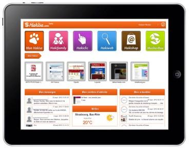 Hakisa accessible sur tablette numérique