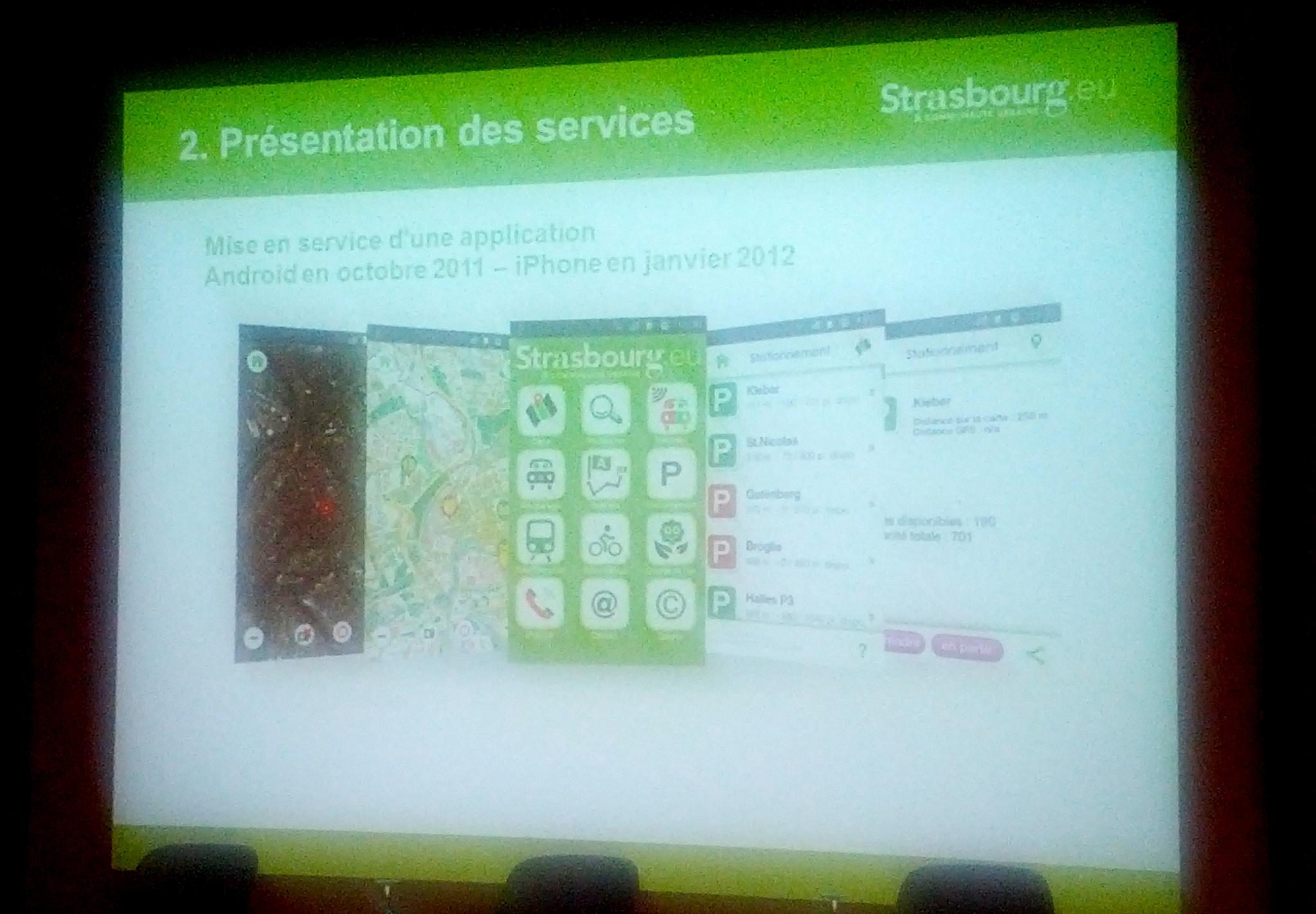 Strasmap, l'appli mobile multiservices de la Communauté Urbaine de Strasbourg