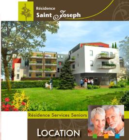 Brochure de la résidence Saint Joseph