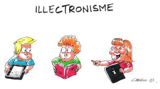 dessin humour illustrre l'illectronisme