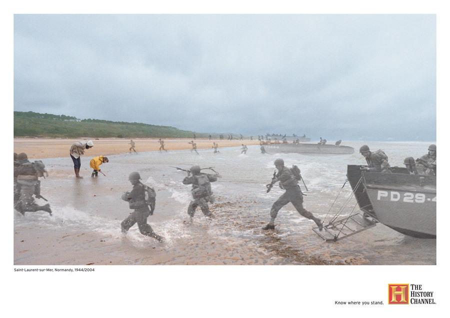 Saint Laurent sur Mer Normandie 1944