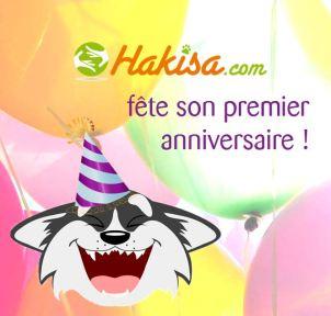affiche 1 an de Hakisa