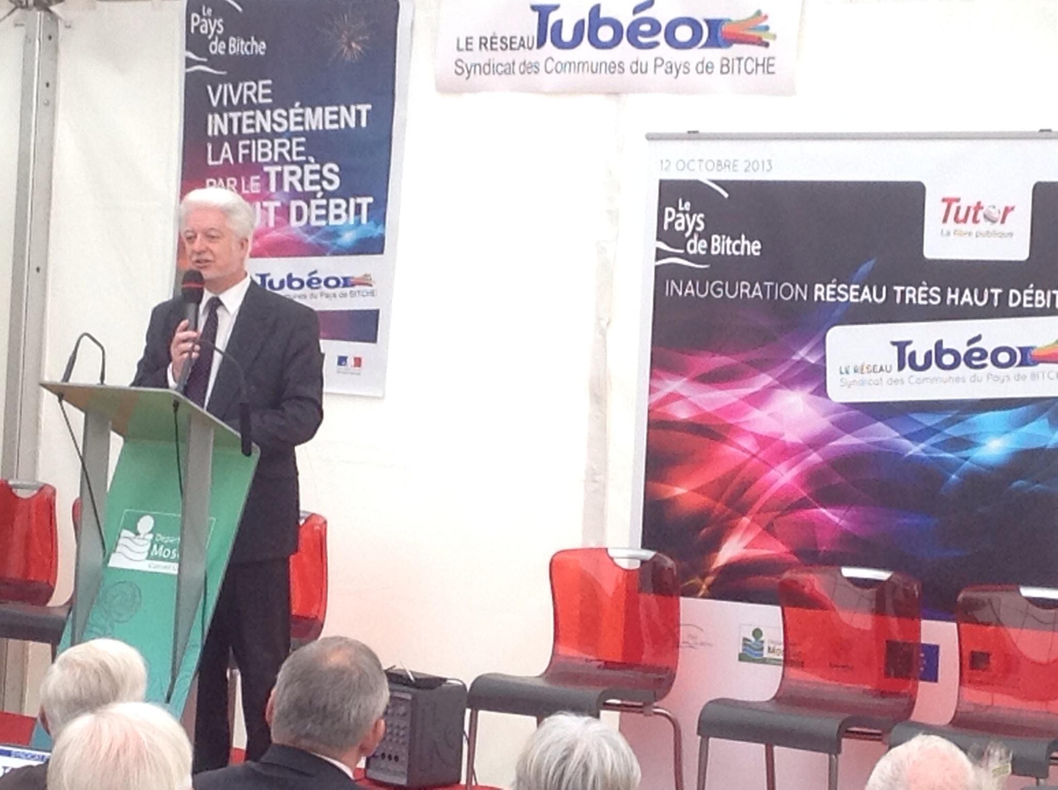 Daniel Zins, président du Syndicat des communes du Pays de Bitche
