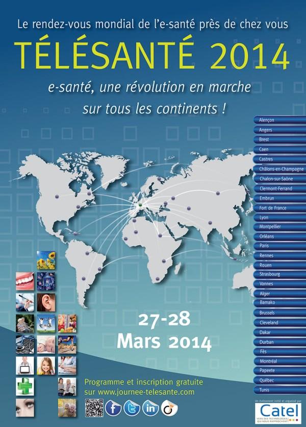 télésanré 2014 affiche web