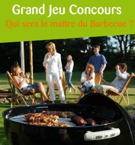 affiche jeu concours : qui sera le maître du barbecue