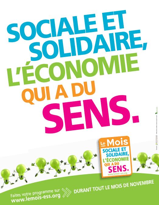 affiche mois Economie sociale solidaire novembre 2014