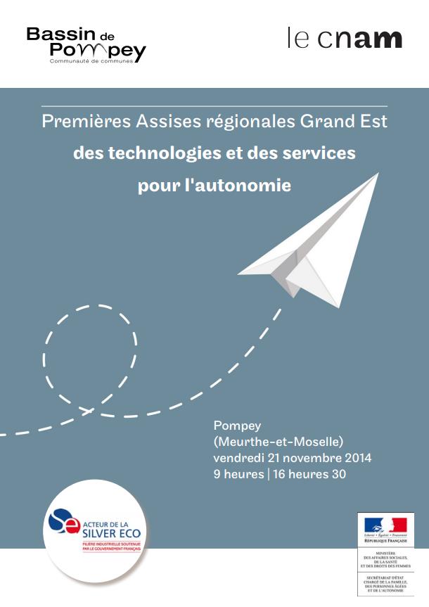 Premières Assises régionales Grand Est des technologies et des services pour l'autonomie