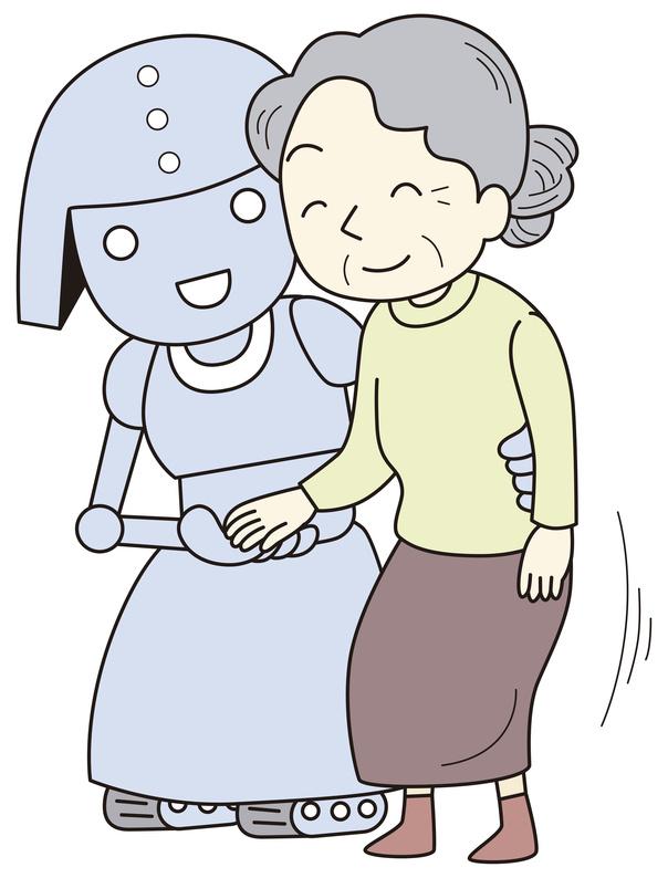 aide gérontechnologie robot