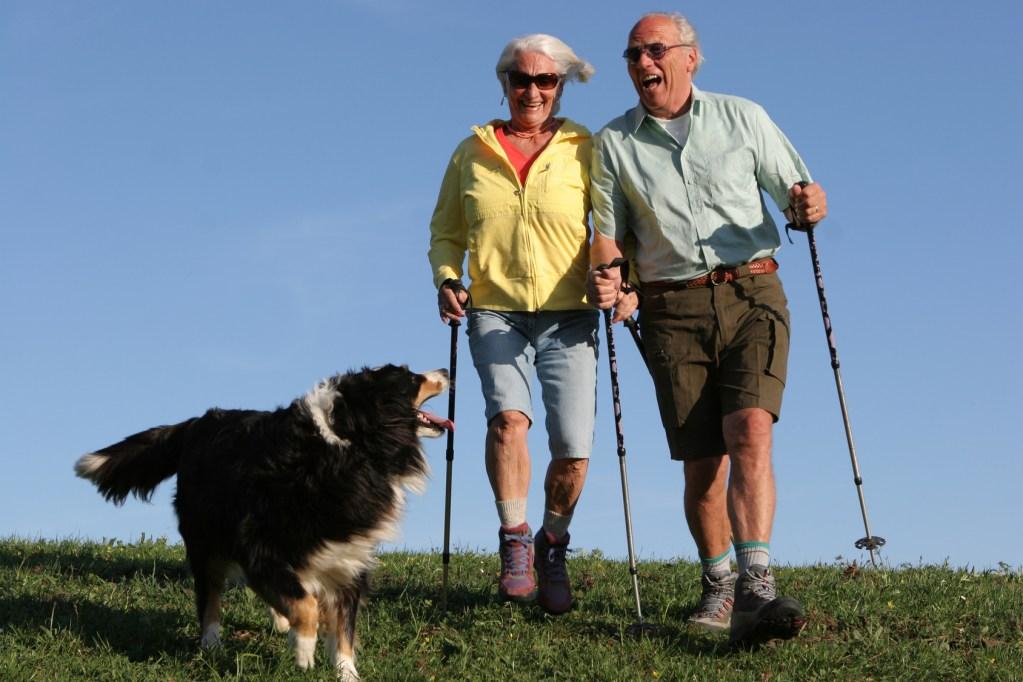 seniors randonnée