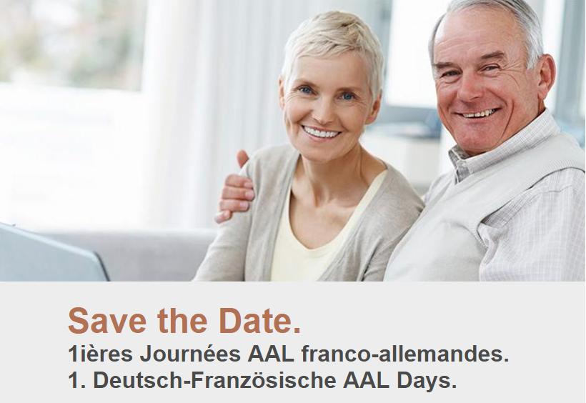 Affiche des premières journées AAL franco-allemandes