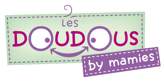 Logo doudous by mamies : les doudous connectés