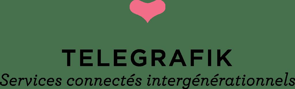 Le logo Telegrafik : les services connectés intergénérationnels