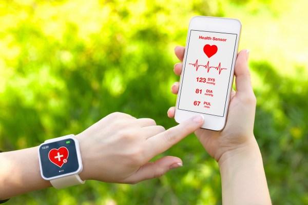 Bracelet connecté et application de e-santé