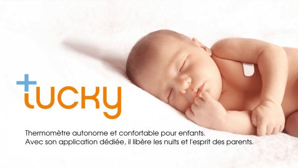 Tucky, le thermomètre connecté pour les enfants by e-TakesCare