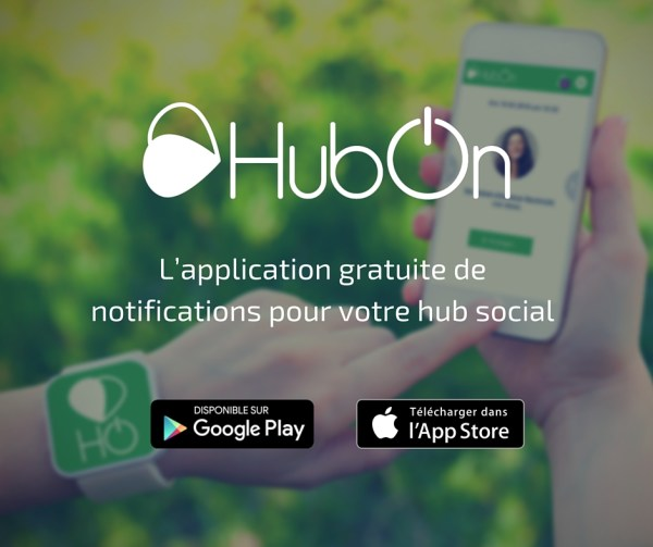 HubOn : l'application gratuite des hubs powered by Hakisa