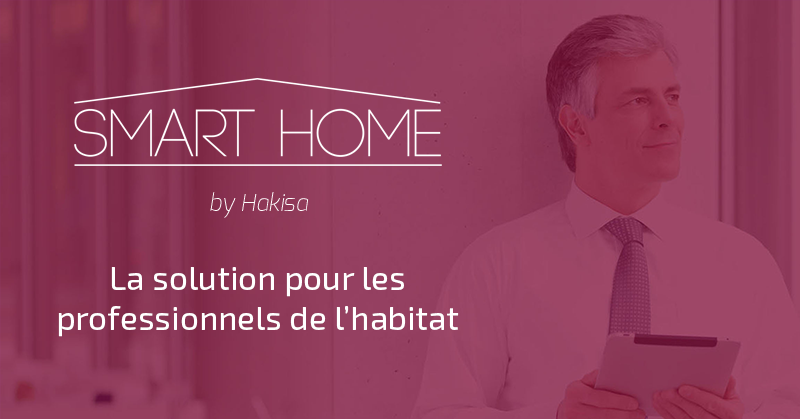 Bannière Smart Home by Hakisa