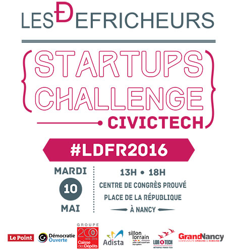 Affiche défricheurs Startup Challenge LORnTECH