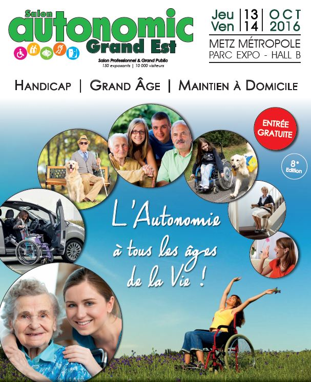 Affiche du salon autonomic grand est