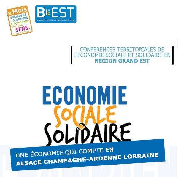 Invitation conférence ESS et Silver Economie Grand Est