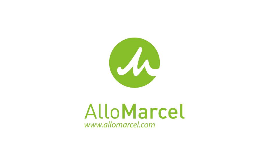 Logo AlloMarcel vert