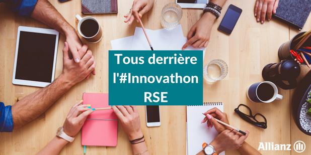 Innovathon Allianz 2017 : thématique RSE